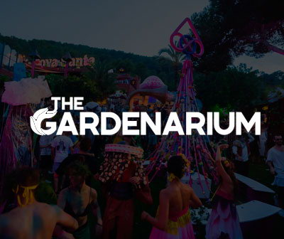 Gardenarium party at Cova Santa Ibiza, agenda, info and tickets