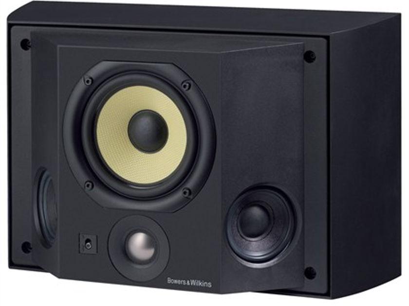B & W DS3 Surrounds Black - New