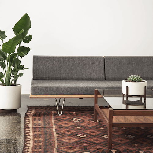 Modernica Case Study V-Leg Daybed, featured in Kings Road Ash