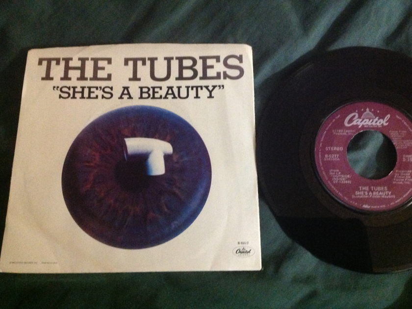 The Tubes - She's A Beauty 45 With Sleeve