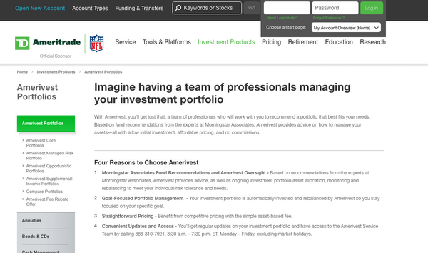 TD is giving its RIA's bare-bones homepage a facelift -- and a new name -- in advance of its scheduled early-2016 launch.