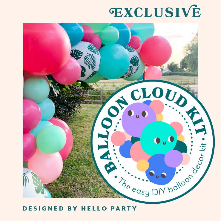 Hello Party Modern Stylish & Luxury Party Supplies Unique Balloon CLoud Garland Arch Kits