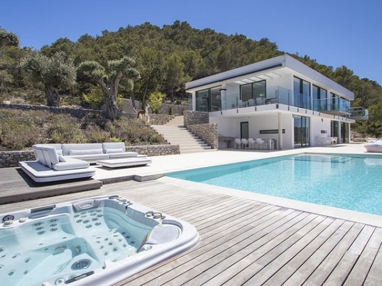 Ibiza - Exclusive villa with tourist license near San Miguel, Ibiza