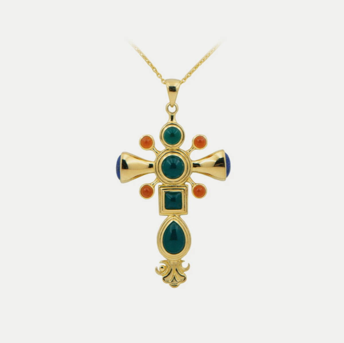 Dynasty Cross Pendant