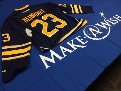 Autographed Sabres Jersey and FOUR Sabres Tickets