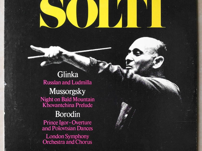 London ffrr/ Solti conducts - Glinka, Mussorgsly, Borodin / EX