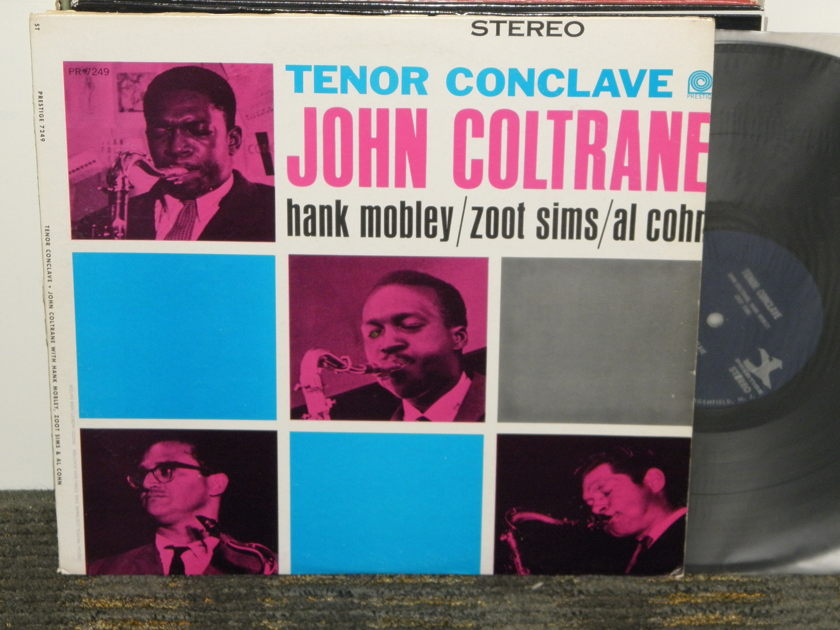John Coltrane - Tenor Conclave Prestige STEREO PRST 7249