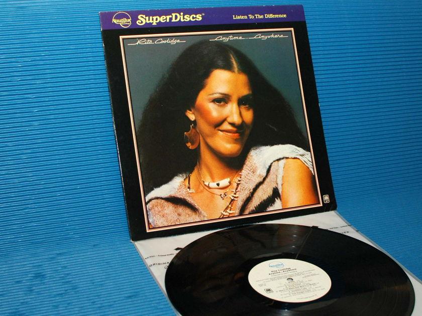 "RITA COOLIDGE - - ""Anytime Anywhere"" - Nautilus Super Disk 1981"