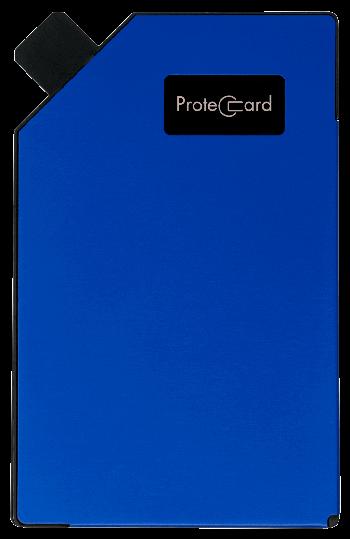 Deep blue - Protec card
