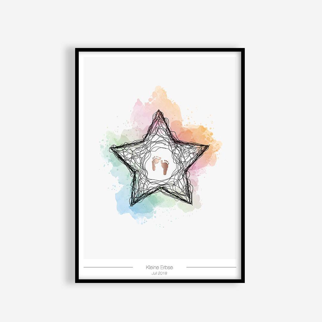 Sternenkindposter Produktübersicht