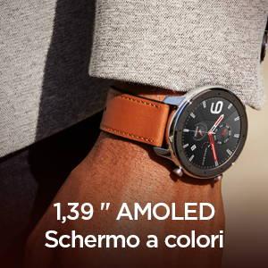 Amazfit GTR 47 mm - 1,39'' AMOLED Schermo a colori