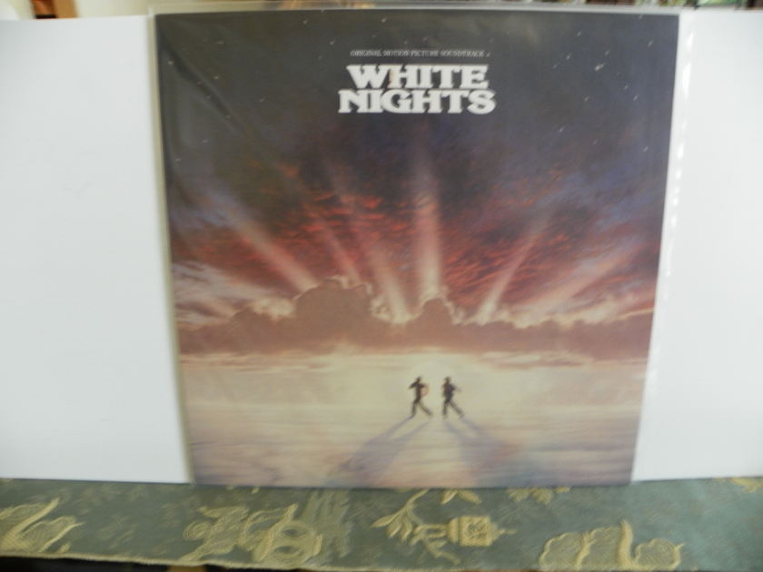 WHITE NIGHTS - MOTION PICTURE SOUNDTRACK Near Mint
