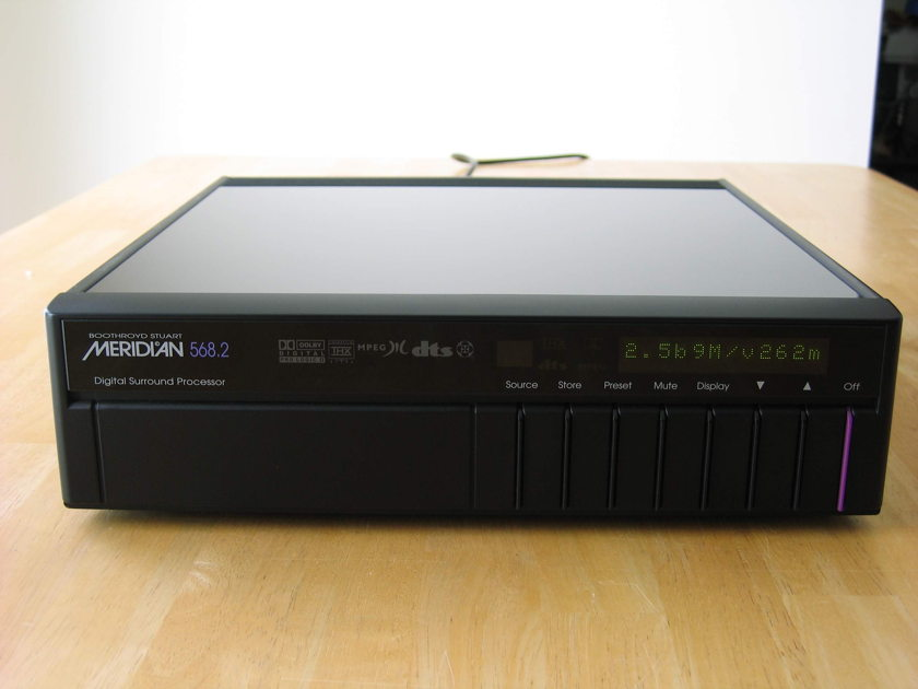 Meridian 568.2mm Digital Surround Processor