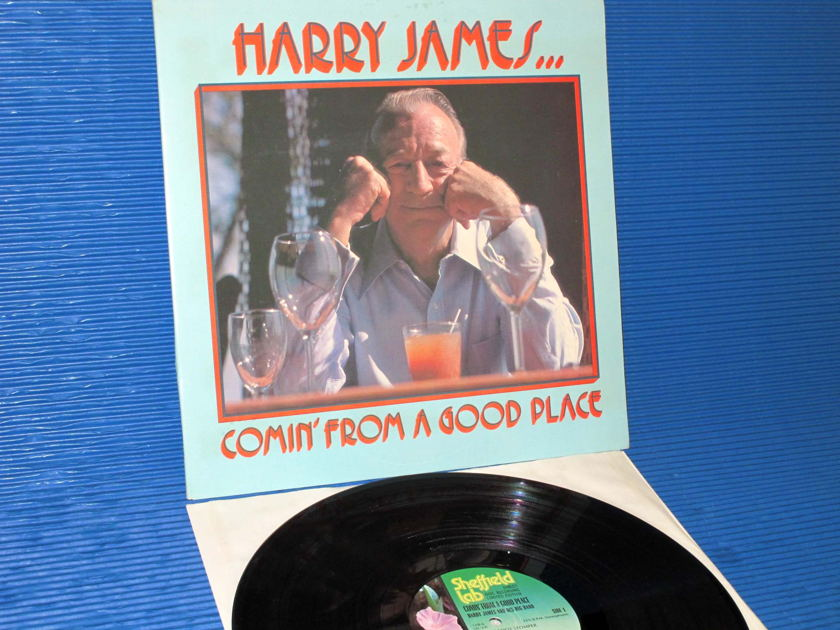 "HARRY JAMES  - ""Comin' From A Good Place"" -  Sheffield Labs D-D 1977"