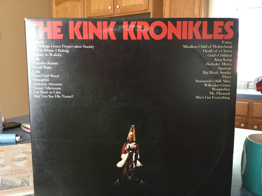 THE KINKS - THE KINKS KRONIKELS 2 Record Set from Reprise Years