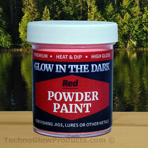 Red Powder Paint