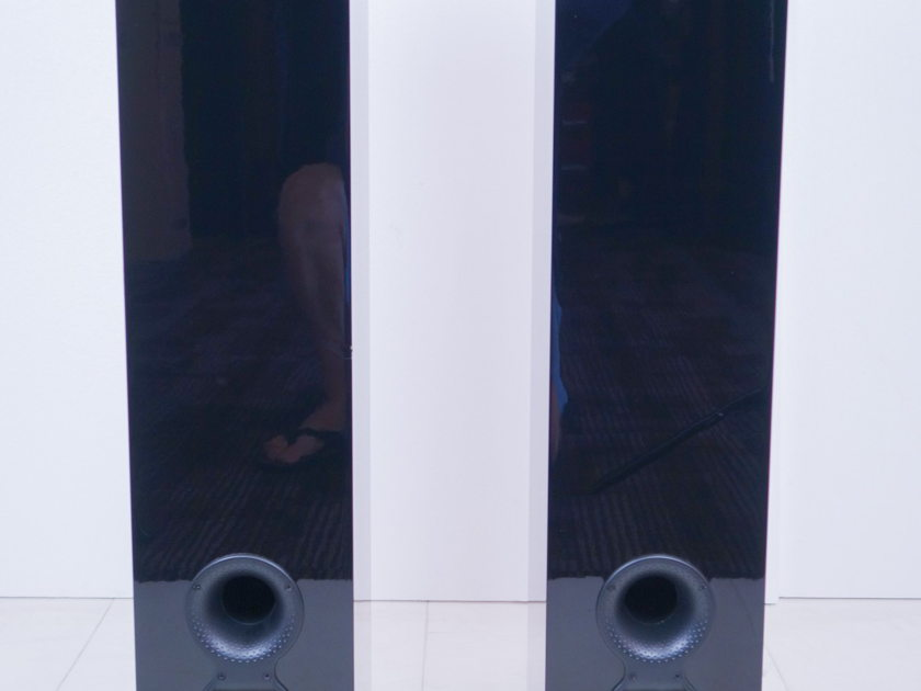 B&W  CM10 S2 Speakers;  Gloss Black Pair (8137)