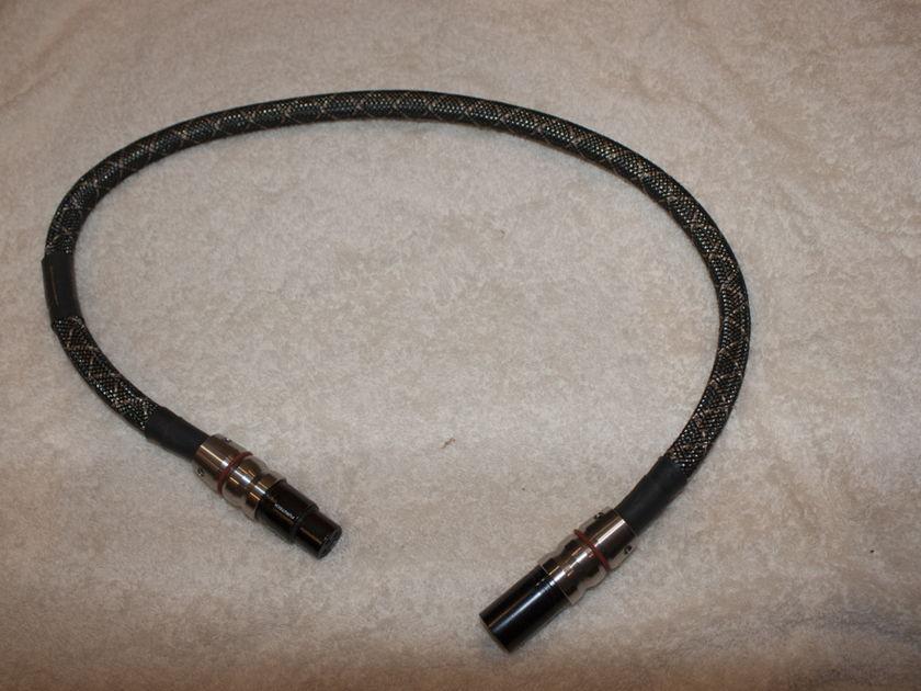 Audio Sensibility Signature Silver 0.7M XLR Single OCC Silver (ONE CABLE)