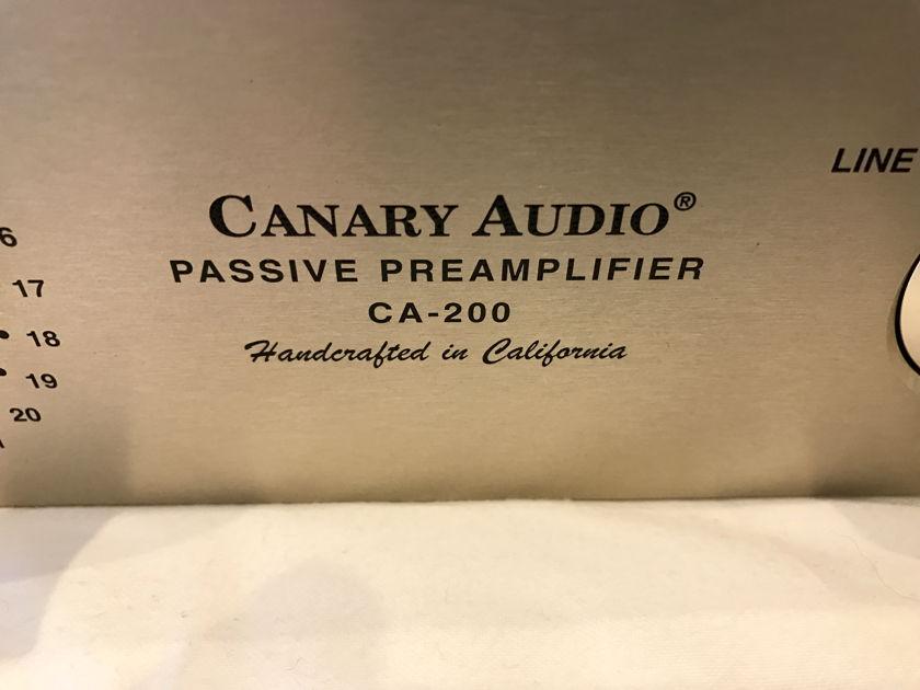 CANARY AUDIO CA-200 Passive Preamp