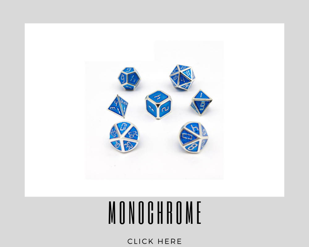 Corporate Monochrome Custom Dice
