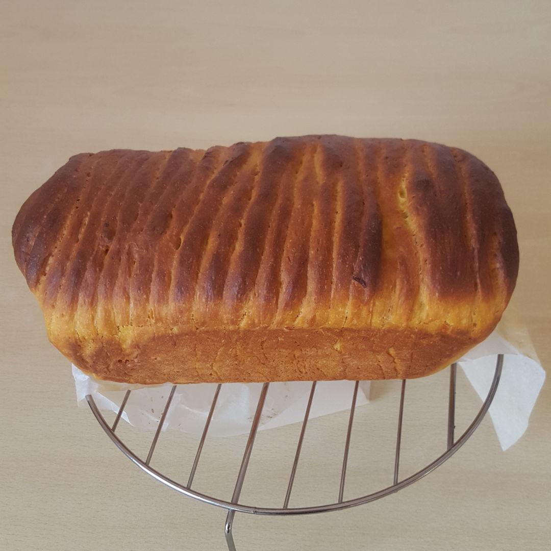 Sweet Potato Bread with Custard