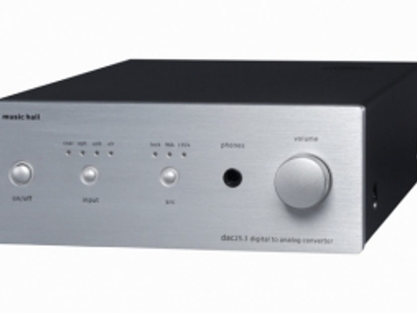 Music Hall dac 25.2 silver face