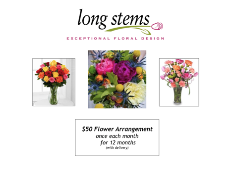 Year of Flowers from Longstems
