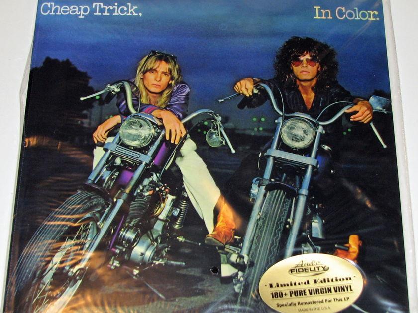 Cheap Trick - In Color 180-gram vinyl LP Sealed