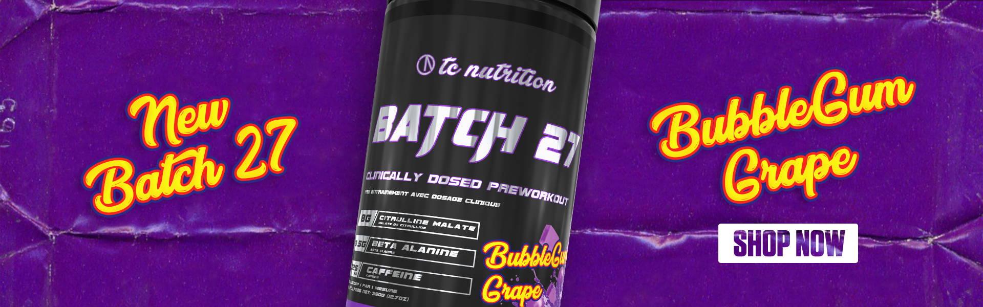 new batch 27 bubblegum grape
