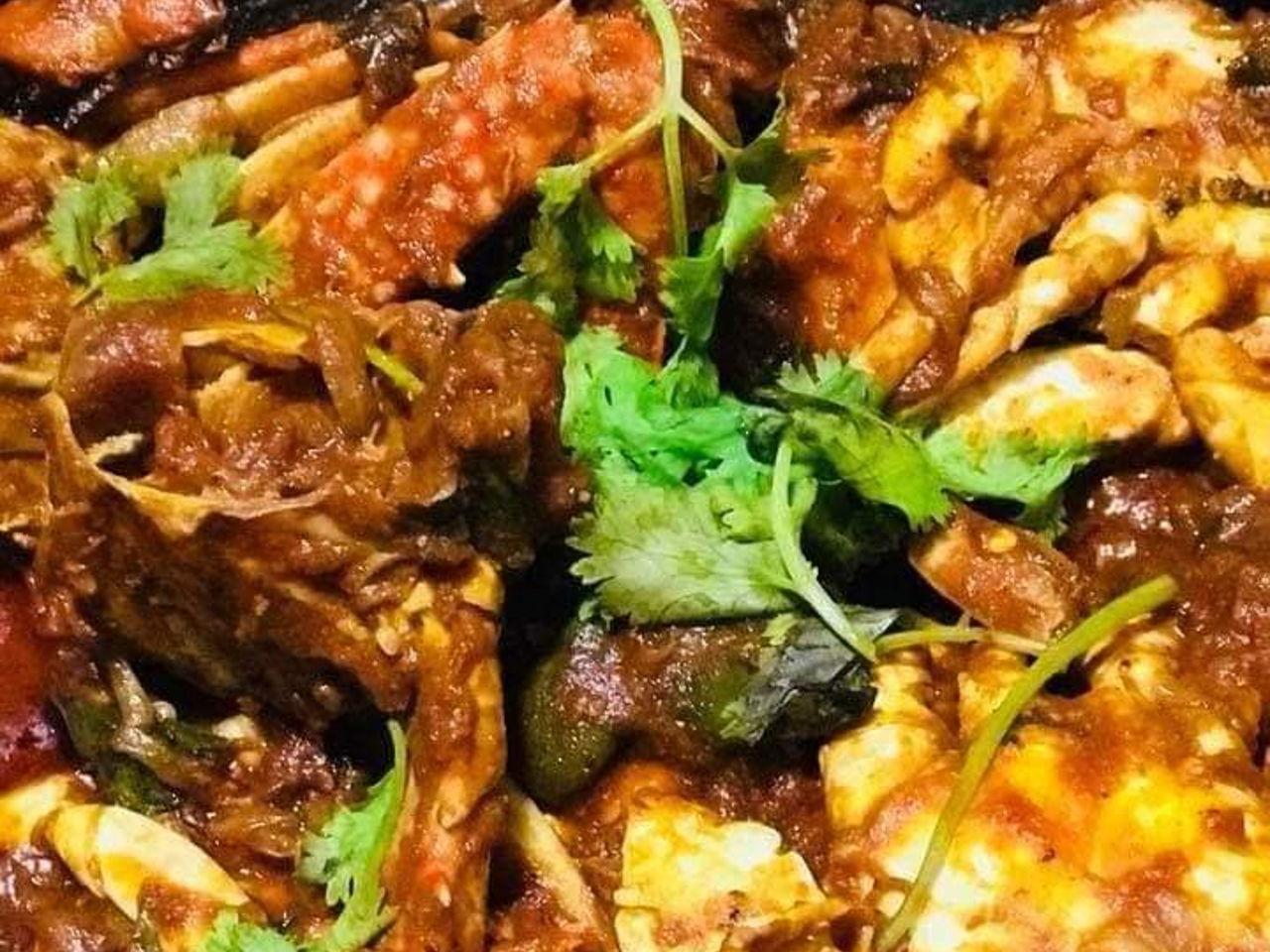 Sri Lankan Crab Masala Southeast Asian Recipes Nyonya Cooking