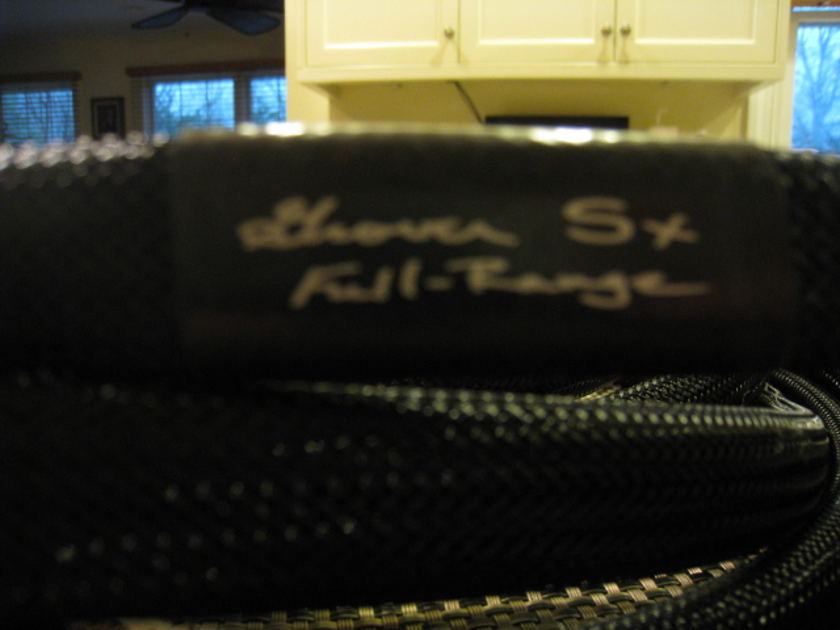 Grover Huffman SX  speaker cables 12ft