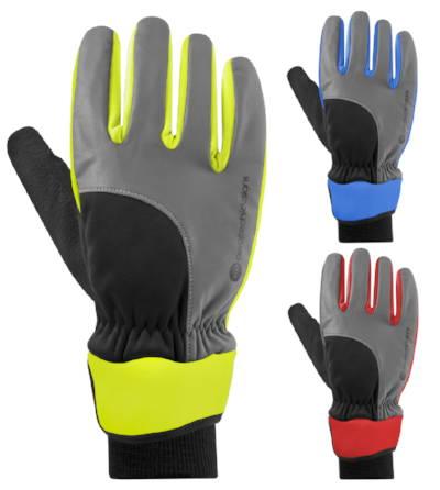 Windproof full finger gloves