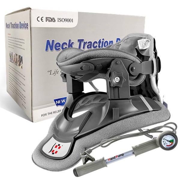Neck traction  device , Cervical tractor , cervical traction device , saunders cervical traction device , neck pain relief , neck pain treatment , neck brace , neck hammock , neckk traction brace , effective neck pain relief , fast neck pain relief