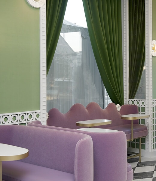 Laudree restaurant by India Mahdavi
