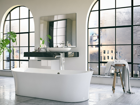 Barcelona - Revamp your bathroom with a new shower wall. Here's a look at the latest trends: