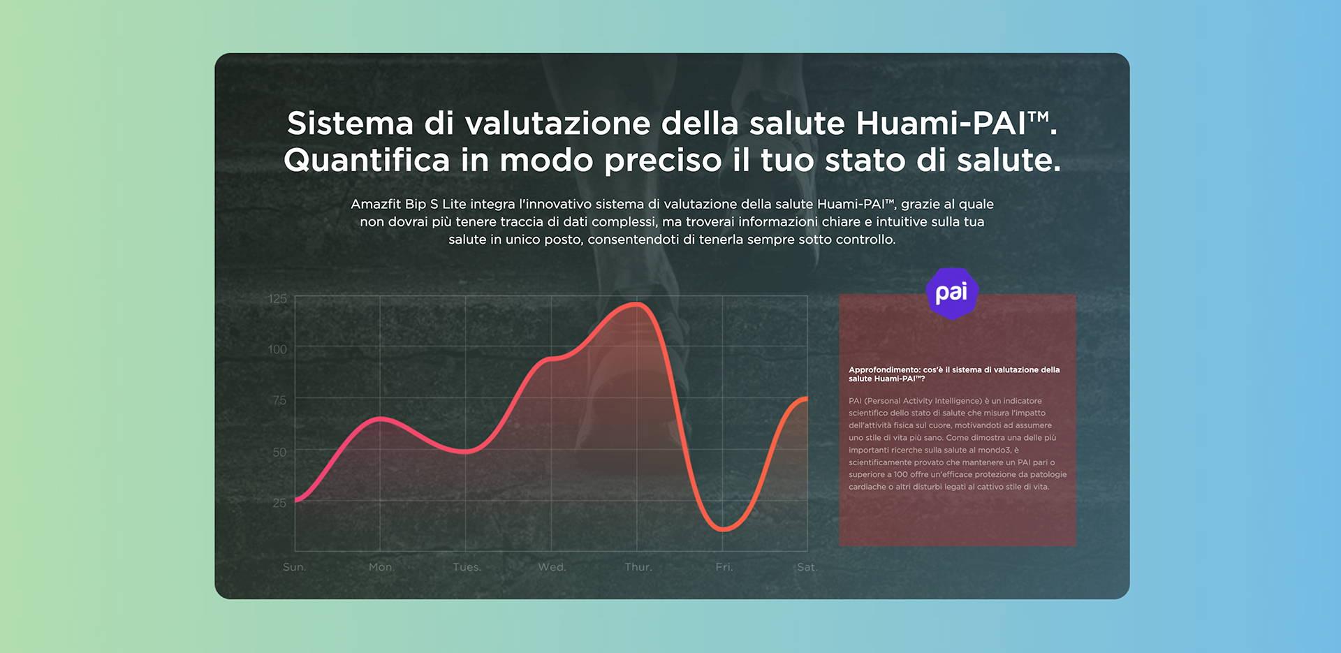 Amazfit IT - Amazfit Bip S Lite - Sistema di valutazione della salute Huami-PAI™. | Quantifica in modo preciso il tuo stato di salute.