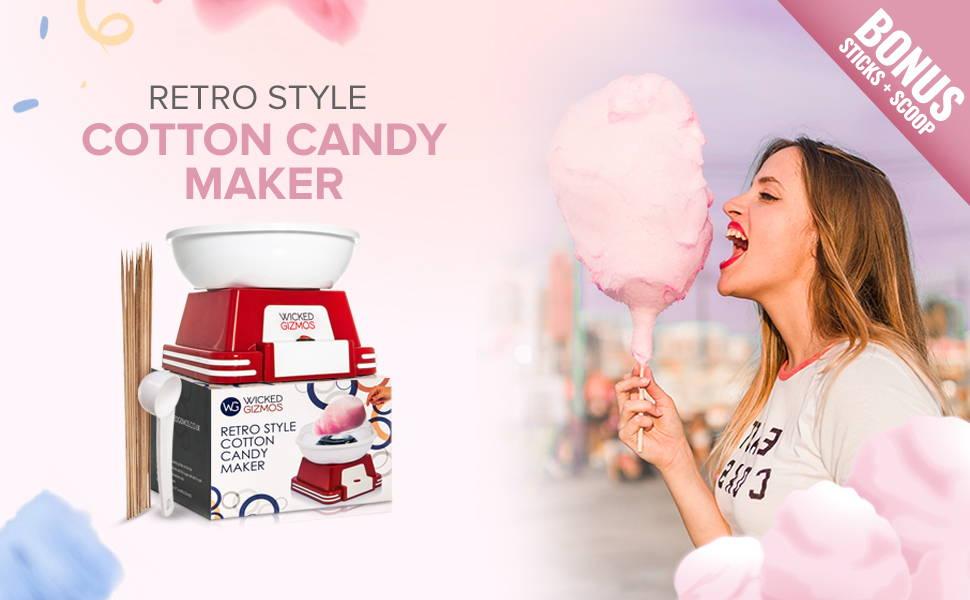 Retro Style Cotton Candy Maker