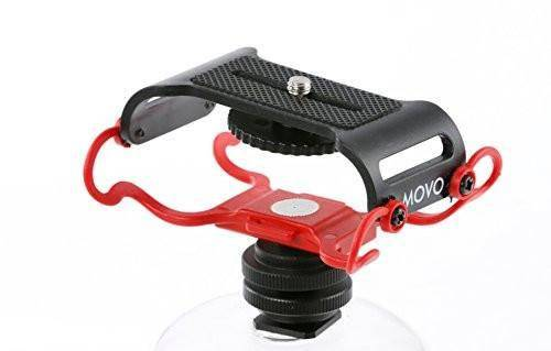 Movo SMM5 Microphone and Portable Digital Recorder Shockmount