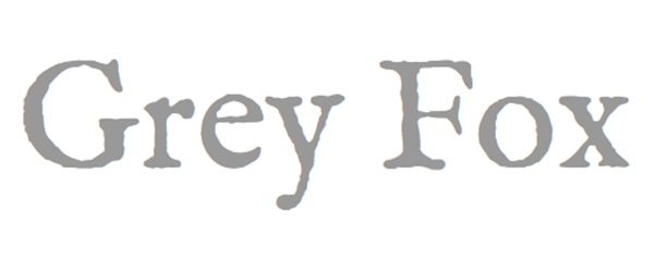 image of the Grey Fox logo - linking to a mention of the Robert Owen Oxford undershirt