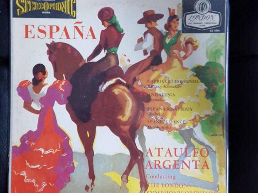 HARRY PEARSONS PRIVATE COLLECTION  - ESPANA CHARTIER ARGENTA LONDON FFSS BLUE BACK *TAS SUPER DISC LIST* MAKE AN OFFER!!!!!!!!