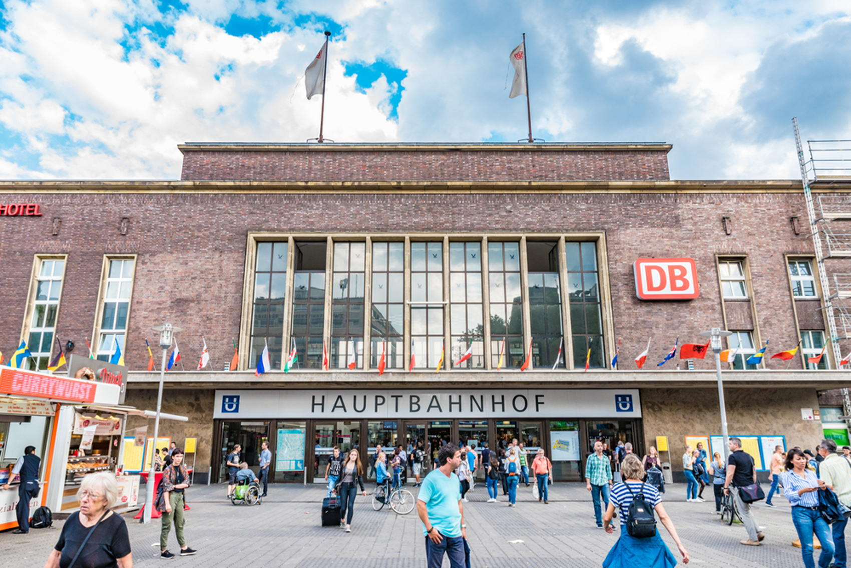 Station Düsseldorf.