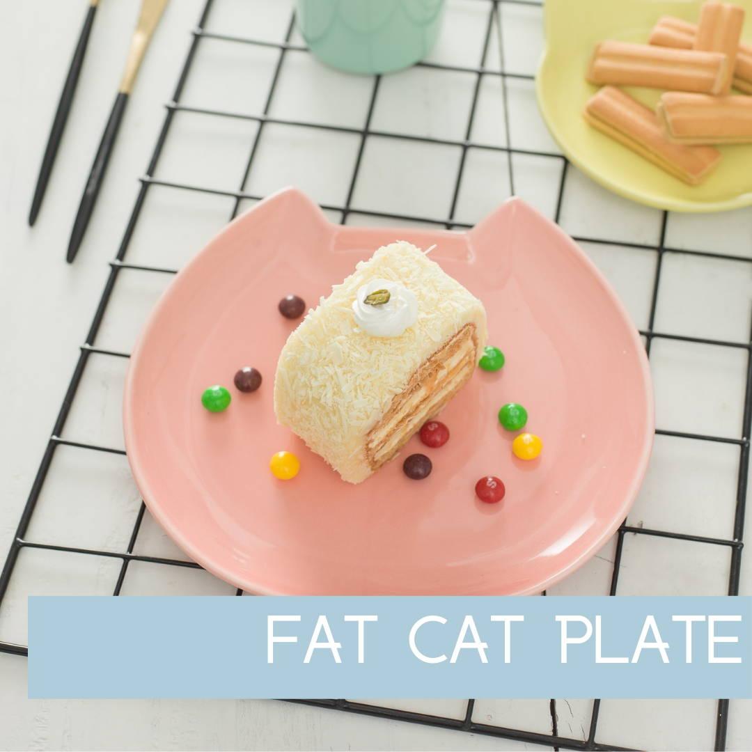 Fat Cat Plate