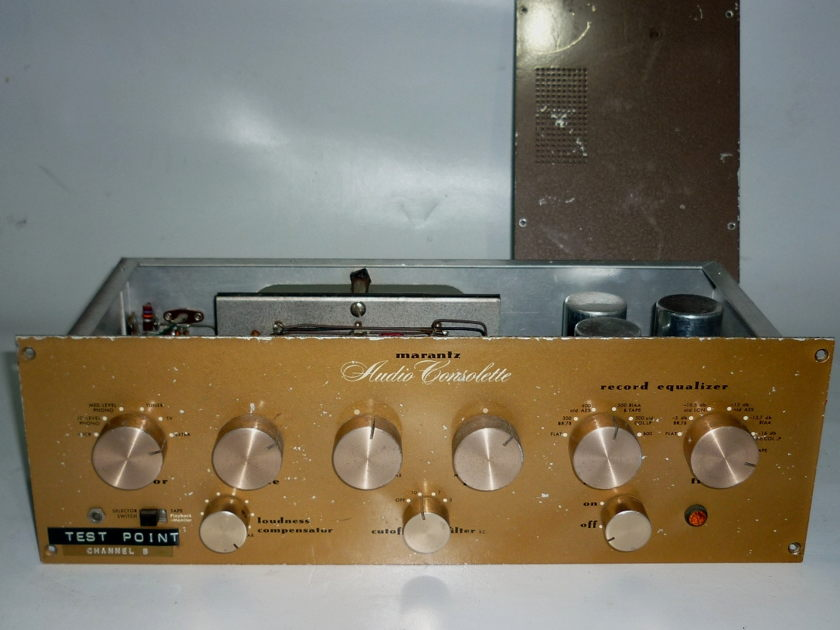 MARANTZ model 1 (one) Mono Preamplifier Audio Consolette  Great classic. Working order