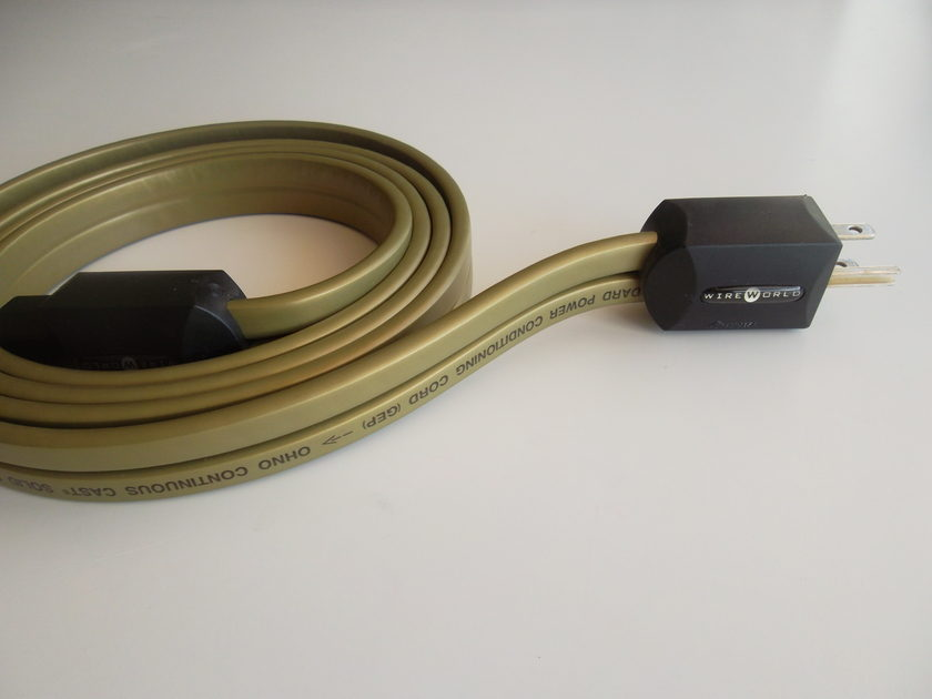 WireWorld -  Gold Electra Power Cord 2 Meter -  Free Shipping