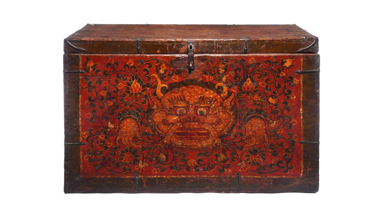 Antique Tibetan Chests & Boxes, Antique Tibetan Furniture | Indigo Antiques