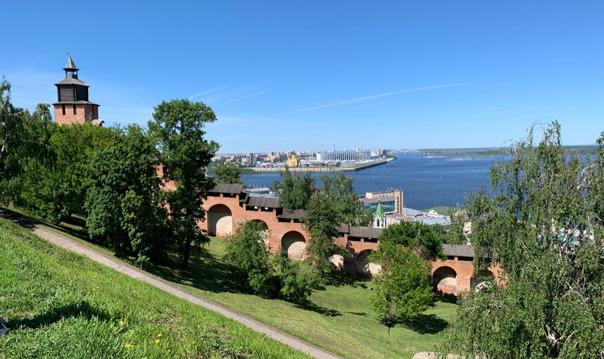 Обзорная автобусно-пешеходная экскурсия по Нижнему Новгороду