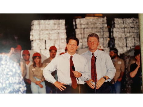 Bill Clinton and Al Gore - Print