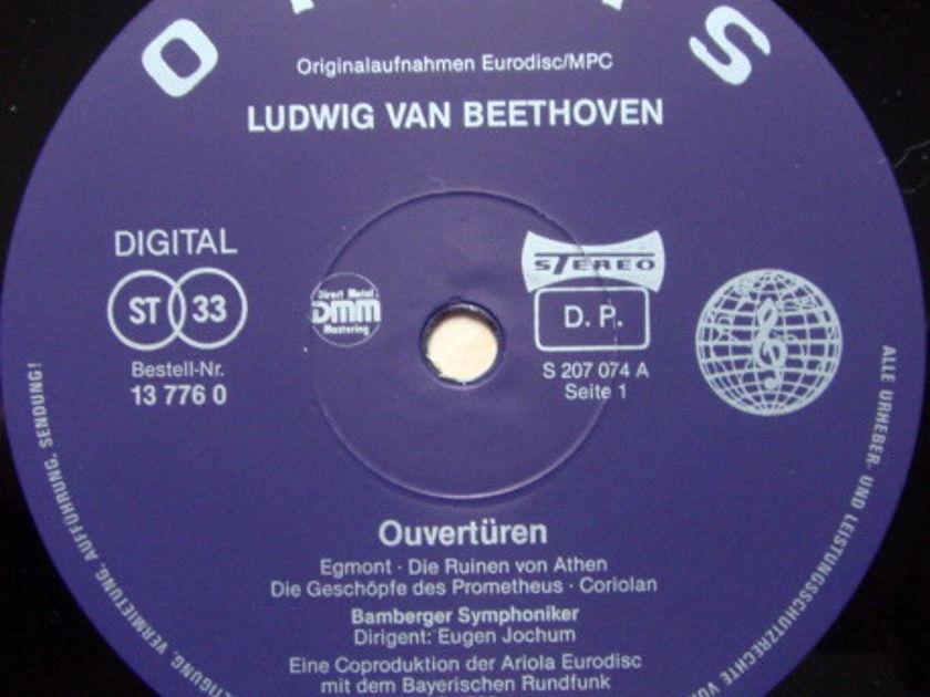 ★Audiophile★ Orbis / JOCHUM, - Beethoven Overtures, NM!