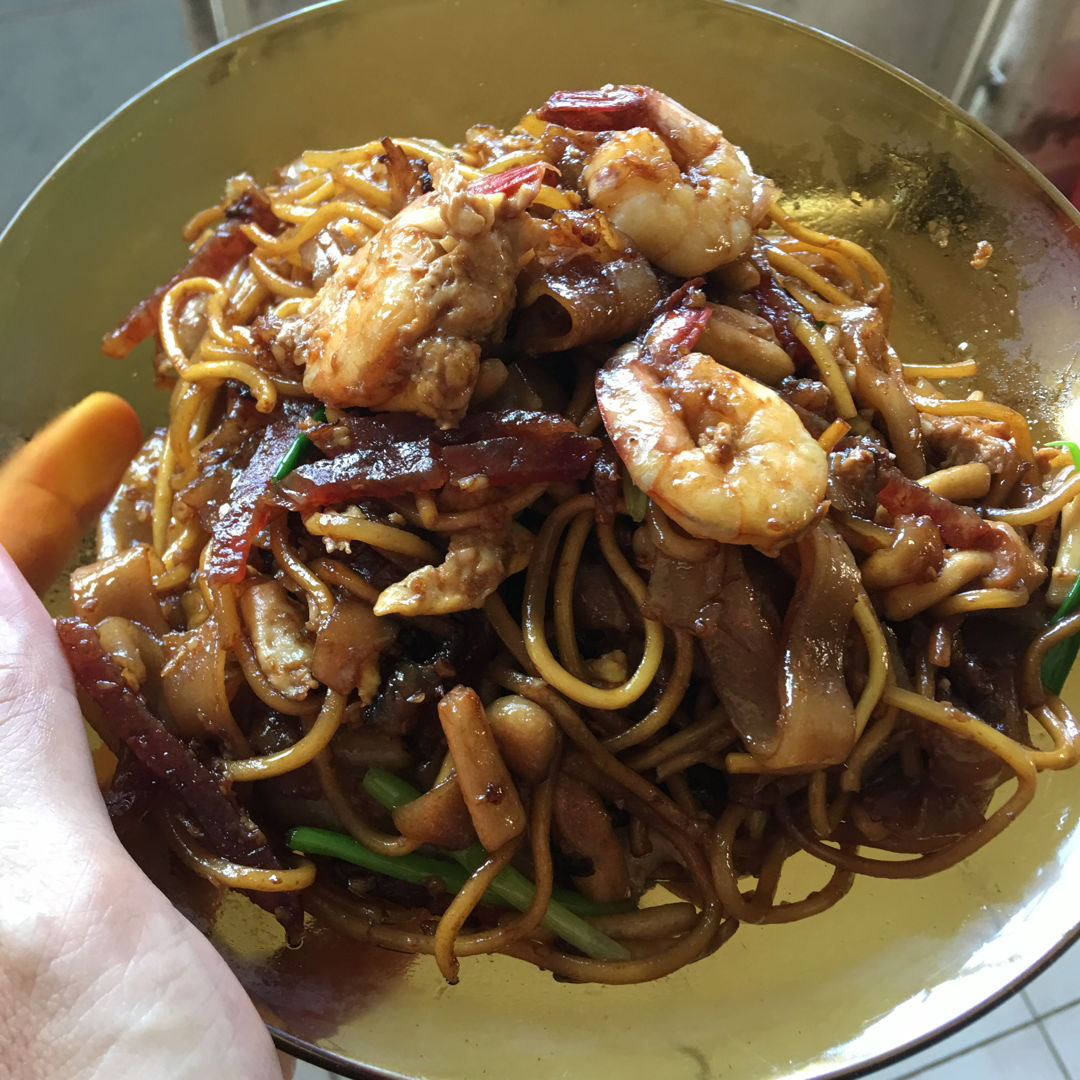 May 14th, 20 - craving for fried keow teow. Very delicious.