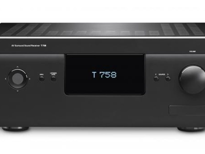 NAD T 758 /  T758 Surround Sound Receiver, with VM130 4K Ultra HD Video Module